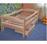 Кровать детская Зюзюн из массива ясеня или дуба