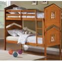 Детская двухъярусная кровать Теремок