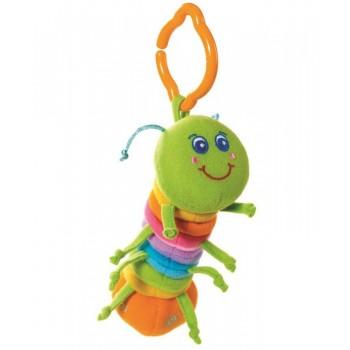 Погремушка-подвеска гусеница Джей Тини Лав