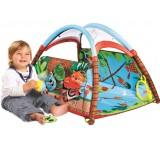 Коврик детский развивающий Лесной домик