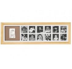 Рамка для фото Baby Art 1-й год классика First Year Print Frame natural (34120076)