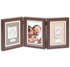 Рамки для детских фото Беби Арт Double Print Frame brown & taupe/beige (34120108)