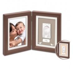 Рамочка для фотографии Беби Арт Print Frame brown and taupe/beige (34120107)
