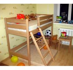 Двухъярусная кровать-чердак Бук