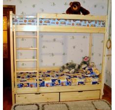 Двухярусная кровать Сосна